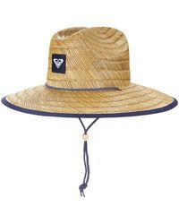 Roxy Womens Tomboy Straw Sun Hat - Multicolor