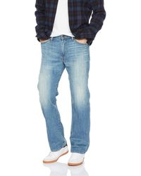 Lucky Brand 181 Relaxed Straight Jean - Blue
