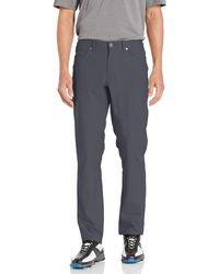 Hickey Freeman Fairway Performance 5 Pocket Golf Pant - Gray