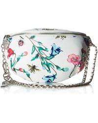 Betsey Johnson Botanical Crossbody Belt Bag - Multicolor