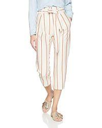 89ad9b7a05de Parker - Ramsey High Waist Ankle Length Striped Pant - Lyst
