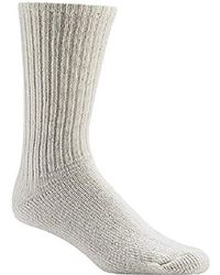 Wigwam 625 Light Weight Wool Athletic Socks - White