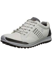 Ecco - Biom Hybrid 2 Hydromax(r) (white/black) Men's Golf Shoes - Lyst