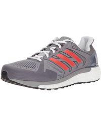adidas Supernova St Aktiv Running Shoe - Gray