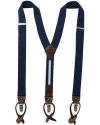Tommy Hilfiger 32mm Suspender With Convertible Clip - Blue