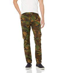 RVCA Week-end Stretch Pants Camo 28 - Multicolor