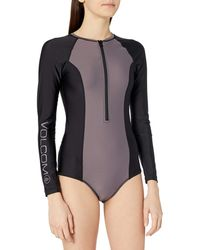 Volcom Simply Solid Bdysuit - Purple
