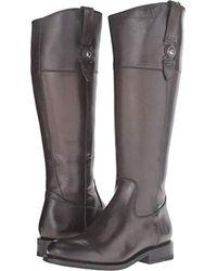 Frye Jayden Button Tall-smvle Riding Boot - Gray