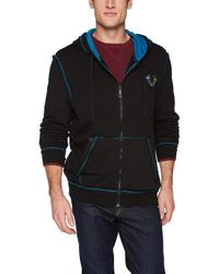 True Religion - Stained Glass Logo Zip Hoodie - Lyst
