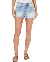 Lucky Brand Low Rise Boyfriend Short In French - Blue
