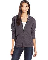 Hanes - Full-zip Hooded Jacket - Lyst