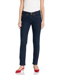 Rafaella Petite Weekend Skinny Leg Slim Fit Jeans - Blue