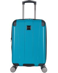 Kenneth Cole Reaction Continuum Hardside 8-wheel Expandable Upright Spinner Luggage - Blue