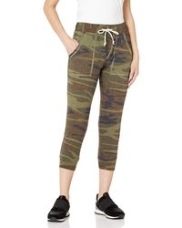 Alternative Apparel Eco Cropped Eco-jersey Jogger Pants - Green