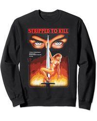 Perry Ellis Stripped To Kill For Sweatshirt - Black
