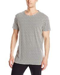 f4af88797c1 G-Star RAW T-Shirt Allover Digi Camo Raw Logo Print in Gray for Men ...