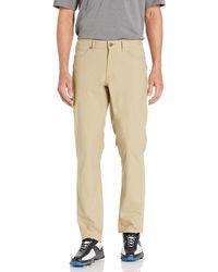Hickey Freeman Fairway Performance 5 Pocket Golf Pant - Natural