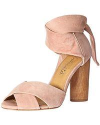 be1e434fc41 Lyst - Splendid Johnson Block Heel Sandal in Gray