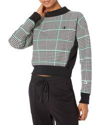 Champion - Reverse Weave Mock Neck Crop - Lyst