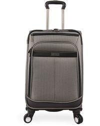 Perry Ellis Lexington Ii Lightweight Carry-on Spinner Luggage - Multicolor