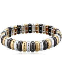 Nine West Boxed Bracelet Stretch - Metallic