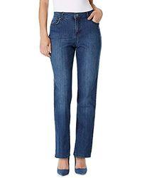 Bandolino - Mandie Signature Fit 5 Pocket Jean - Lyst