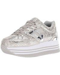 dd77981c5e8 Skechers - Highrise-dist Metallic Sneaker - Lyst