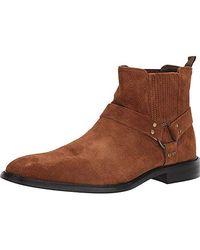 b3ec6b0fe46 Steve Madden Aziz Chelsea Boot in Brown for Men - Lyst