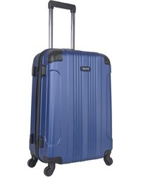 "Kenneth Cole Reaction Out Of Bounds Abs 4-wheel Luggage 2-piece Set 20"" & 28"" Sizes - Multicolor"