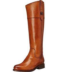 Frye Jayden Button Tall-smvle Riding Boot - Brown