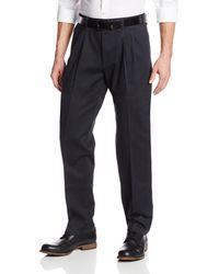 LEE Mens Stain Resistant Relaxed Fit Flat Front Pant