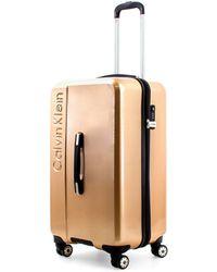 Calvin Klein Hattan 2.0 Hardside Spinner Trunk With Tsa Lock - Multicolour
