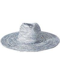 BCBGMAXAZRIA - Stitched Floppy Hat - Lyst