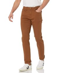 Amazon Essentials Slim-Fit Stretch Jean Jeans - Marrón