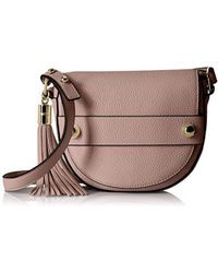 MILLY Astor Small Crossbody Saddle - Multicolor
