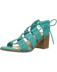 Charles David Birch Gladiator Sandal - Blue