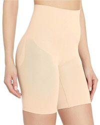 Yummie Cooling Fx Mid Waist Thigh Shaper Shapewear - Natural
