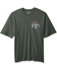 G.H.BASS Big & Tall Tall Short Sleeve Graphic Print T-shirt - Green