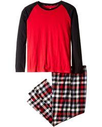 Hanes Flannel Sleep Gift Set - Red