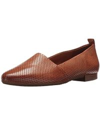 Paul Green Perry Flt Loafer Flat - Brown