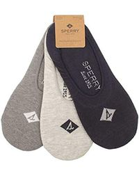 Sperry Top-Sider - 3 Pair Pack Cushion Canoe Liner Socks - Lyst