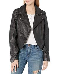 Cupcakes And Cashmere - Dilbert Leatehr Moto Jacket - Lyst