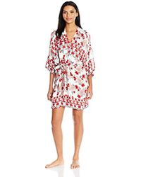 aab0d0fafb0f MINKPINK - Bed Of Roses Robe - Lyst
