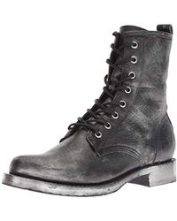 Frye - Veronica Combat Ankle Boot - Lyst