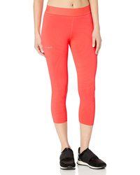 Desigual Womens Sport Long Tight Essential Fuchsia Red