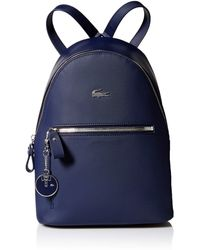 Lacoste Women Daily Classic Backpack - Blue