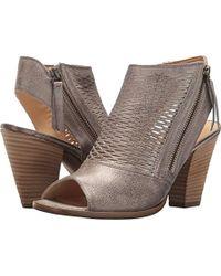 6a5e5bebb99 Lyst - Paul Green Tammy Women Open Toe Leather Bronze Wedge Sandal ...