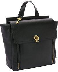 Fossil Amelia Backpack Handbags Black