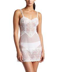 Wacoal Embrace Lace Chemise - White