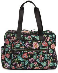 Vera Bradley Iconic Deluxe Weekender Travel Bag - Black